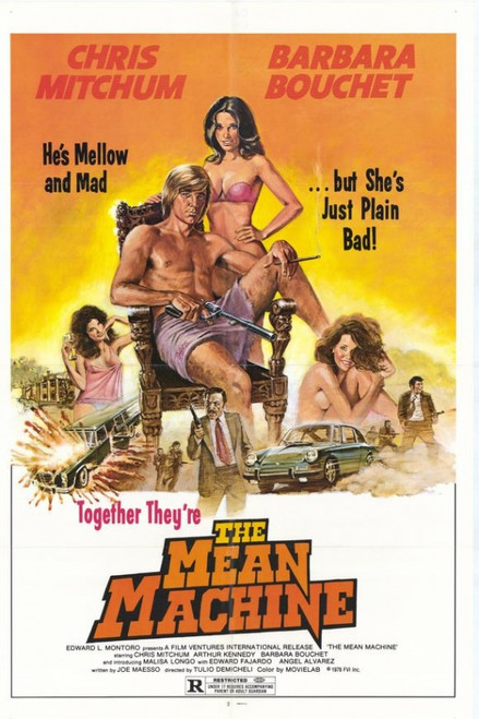 The Mean Machine Movie Poster Print (27 x 40) - Item # MOVGG5286