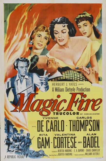 Magic Fire Movie Poster Print (27 x 40) - Item # MOVCB67014