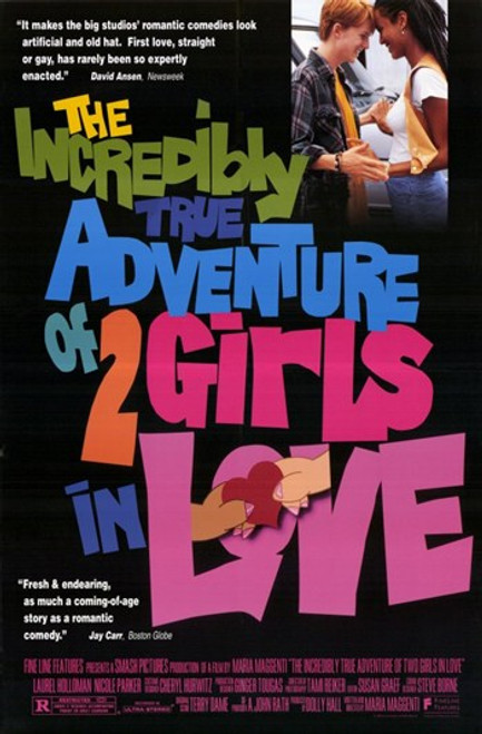 The Incredibly True Adventure of 2 Girls in Love Movie Poster (11 x 17) - Item # MOV233627