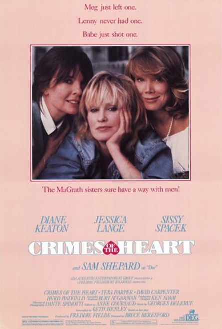 Crimes of the Heart Movie Poster (11 x 17) - Item # MOV233063