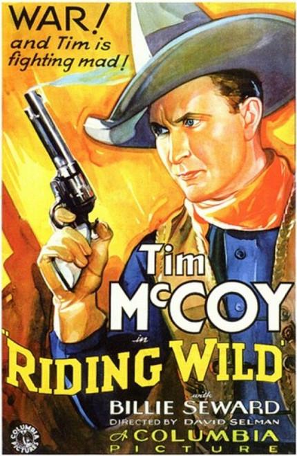 Riding Wild Movie Poster (11 x 17) - Item # MOV200219