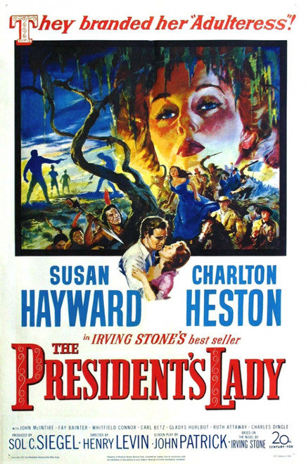 The President's Lady Movie Poster Print (27 x 40) - Item # MOVAI5554