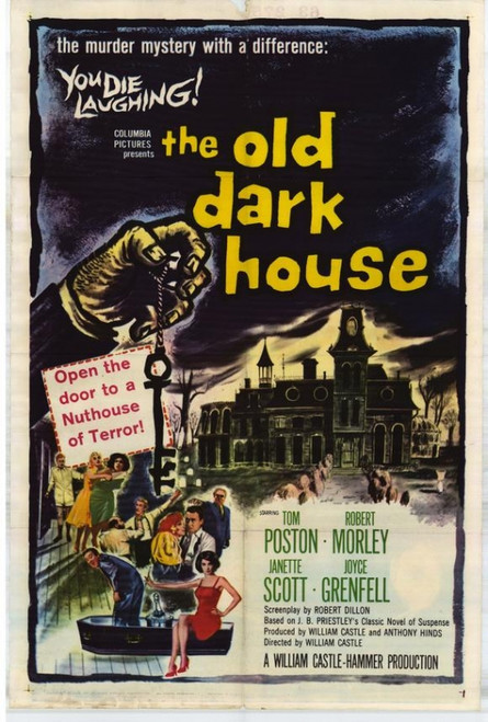 The Old Dark House Movie Poster Print (27 x 40) - Item # MOVCF0436