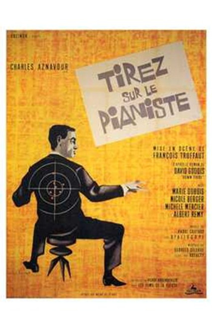 Shoot the Piano Player Movie Poster (11 x 17) - Item # MOV196288