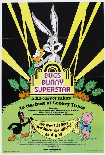 Bugs Bunny Superstar Movie Poster Print (27 x 40) - Item # MOVCJ2305