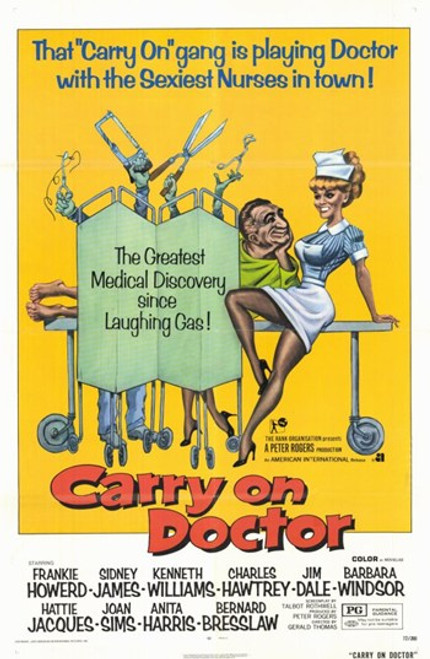 Carry on Doctor Movie Poster (11 x 17) - Item # MOV203527