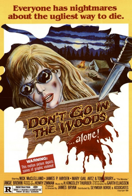 Don't Go in the Woods Movie Poster Print (27 x 40) - Item # MOVGH2642