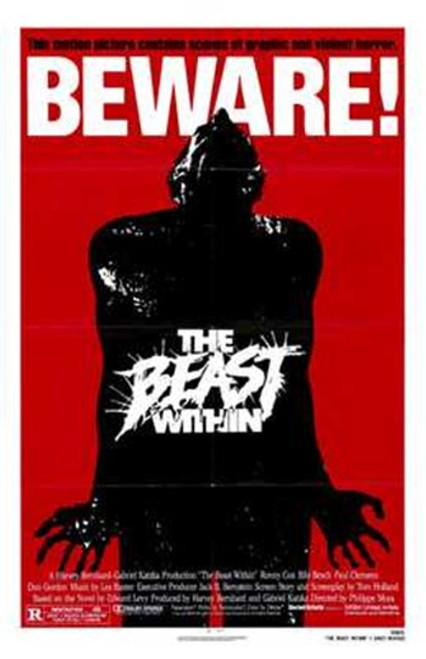 The Beast Within Movie Poster (11 x 17) - Item # MOV203390