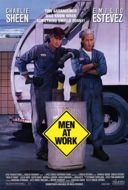 Men at Work Movie Poster Print (27 x 40) - Item # MOVAF1423