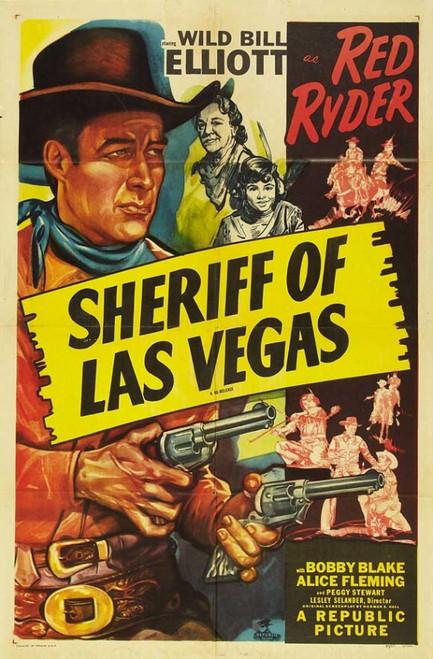 Sheriff of Las Vegas Movie Poster Print (27 x 40) - Item # MOVCB49950
