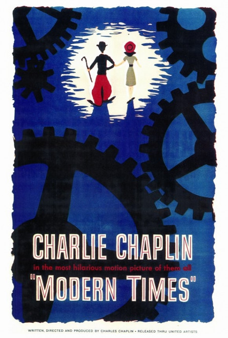 Modern Times Movie Poster Print (27 x 40) - Item # MOVEF6170