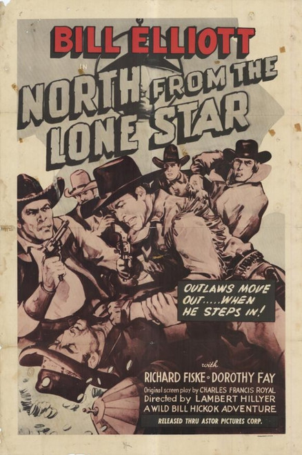 North from the Lone Star Movie Poster Print (27 x 40) - Item # MOVCF2869