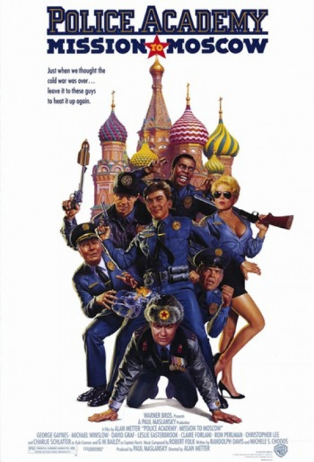 Police Academy Mission to Moscow Movie Poster (11 x 17) - Item # MOV215978