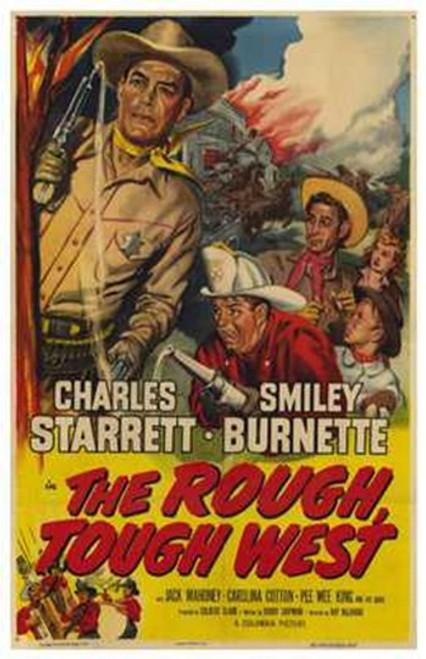 Rough Tough West Movie Poster (11 x 17) - Item # MOV256078