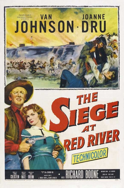 The Siege at Red River Movie Poster Print (27 x 40) - Item # MOVGJ9836
