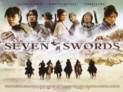 Seven Swords Movie Poster (17 x 11) - Item # MOV359106