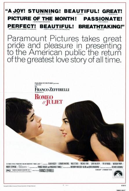 Romeo & Juliet Movie Poster Print (27 x 40) - Item # MOVGF0384