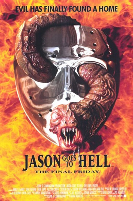 Jason Goes to Hell the Final Friday Movie Poster (11 x 17) - Item # MOV196548