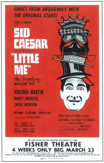 Little Me (Broadway) Movie Poster (11 x 17) - Item # MOV409281