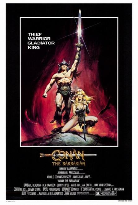 Conan the Barbarian Movie Poster Print (27 x 40) - Item # MOVAF0399