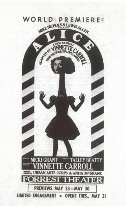 Alice (Broadway) Movie Poster (11 x 17) - Item # MOV409212