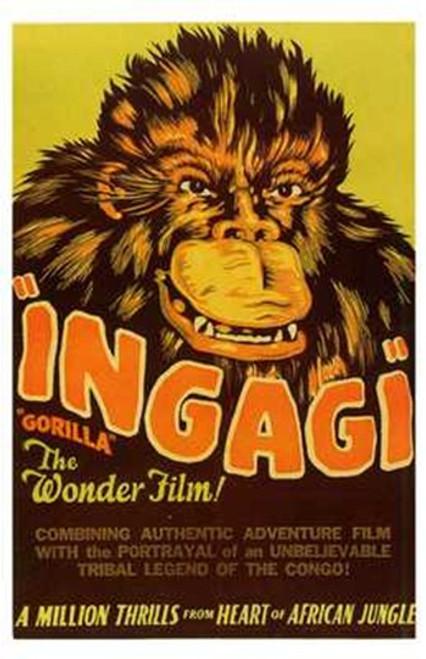 Ingagi Movie Poster (11 x 17) - Item # MOV197442
