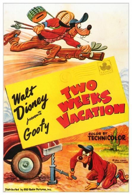 Two Weeks Vacation Movie Poster Print (27 x 40) - Item # MOVAF0357