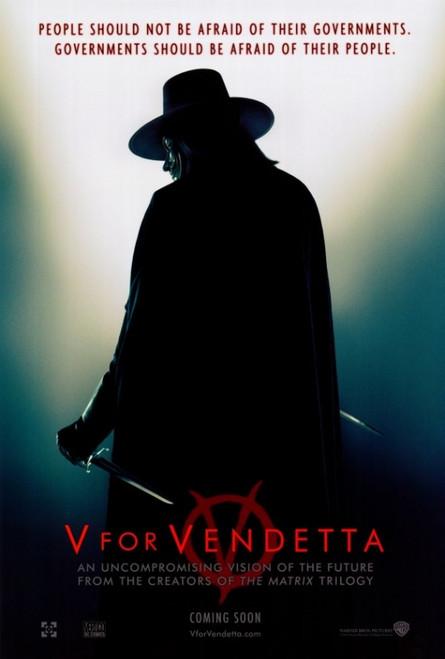 V for Vendetta Movie Poster Print (27 x 40) - Item # MOVAF4507