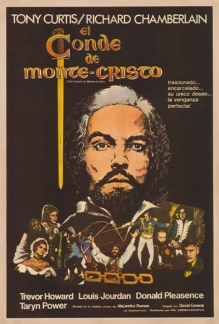 The Count of Monte Cristo Movie Poster (11 x 17) - Item # MOV374946