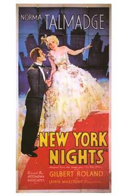 New York Nights Movie Poster (11 x 17) - Item # MOV241703
