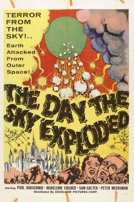 The Day the Sky Exploded Movie Poster (11 x 17) - Item # MOVEB32100
