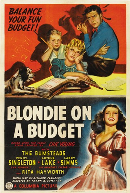 Blondie on a Budget Movie Poster (11 x 17) - Item # MOV413128
