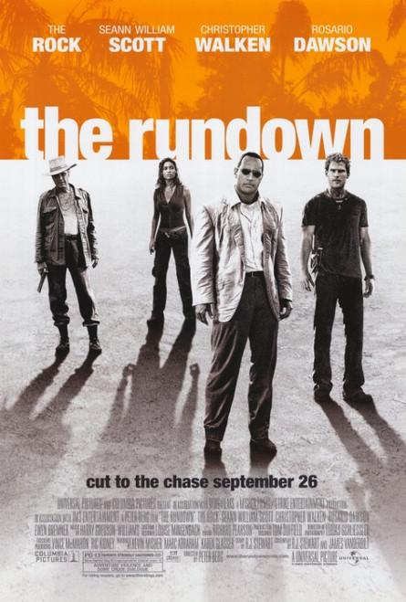 The Rundown Movie Poster (11 x 17) - Item # MOVCE5288