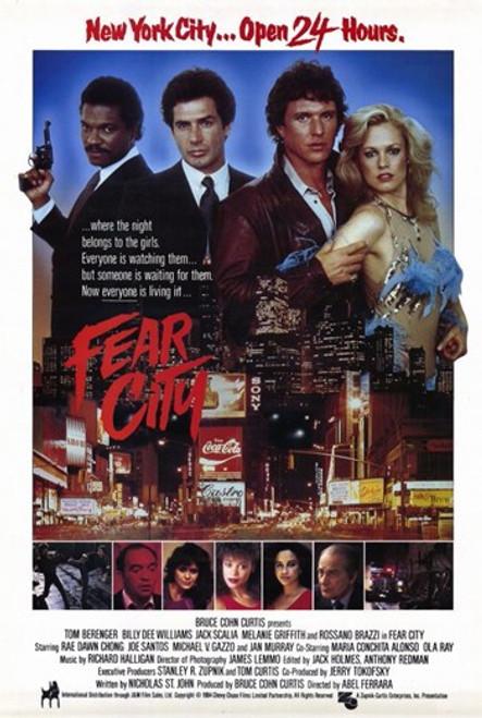 Fear City Movie Poster (11 x 17) - Item # MOV227423