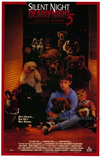 Silent Night, Deadly Night 5 The Toy Maker Movie Poster (11 x 17) - Item # MOVEE7213