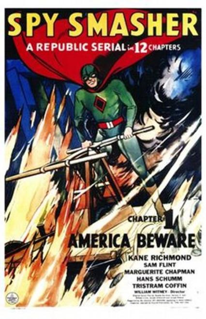Spy Smasher Movie Poster (11 x 17) - Item # MOV143622