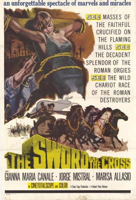 The Sword and the Cross Movie Poster Print (27 x 40) - Item # MOVCH7086