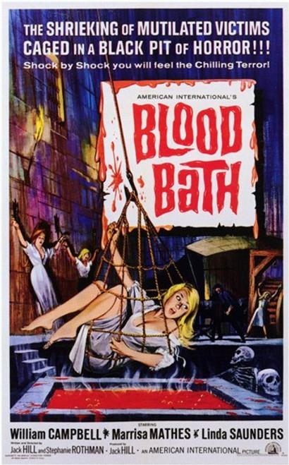 Blood Bath Movie Poster (11 x 17) - Item # MOV197319