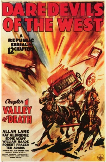 Daredevils of the West Movie Poster (11 x 17) - Item # MOV200686