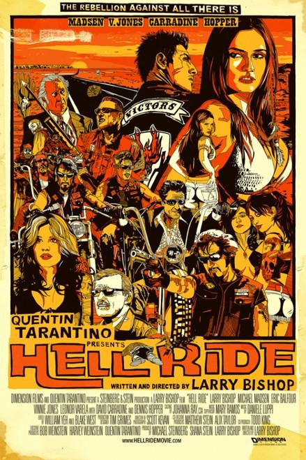Hell Ride Movie Poster Print (27 x 40) - Item # MOVCI9250