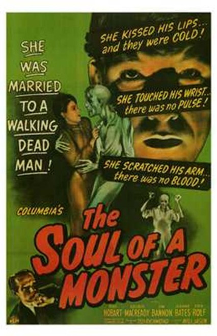 The Soul of a Monster Movie Poster (11 x 17) - Item # MOV199104