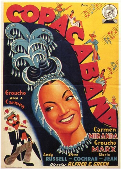 Copacabana Movie Poster (11 x 17) - Item # MOV207320