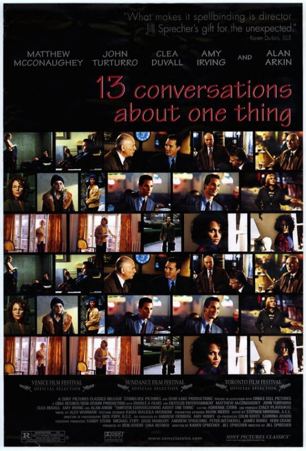 13 Conversations About One Thing Movie Poster (11 x 17) - Item # MOVCD2982