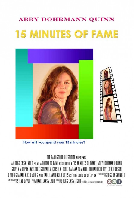 15 Minutes of Fame Movie Poster (11 x 17) - Item # MOVEJ2893