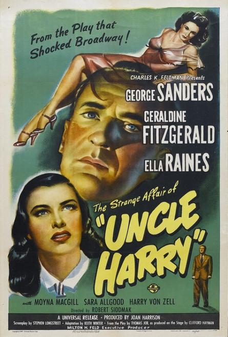 The Strange Affair of Uncle Harry Movie Poster Print (27 x 40) - Item # MOVGI8352