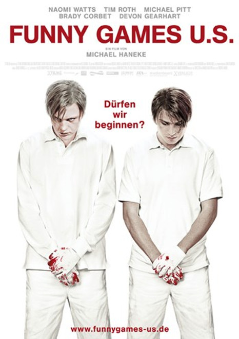 Funny Games Movie Poster (11 x 17) - Item # MOV415904