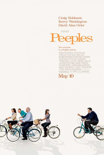 Tyler Perry Presents Peeples Movie Poster (11 x 17) - Item # MOVCB87905