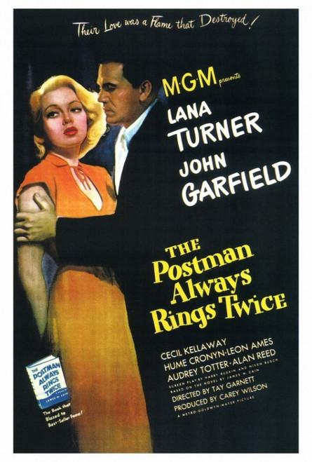 The Postman Always Rings Twice Movie Poster Print (27 x 40) - Item # MOVCF9176
