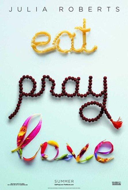Eat Pray Love - Style A Movie Poster (11 x 17) - Item # MOV534692
