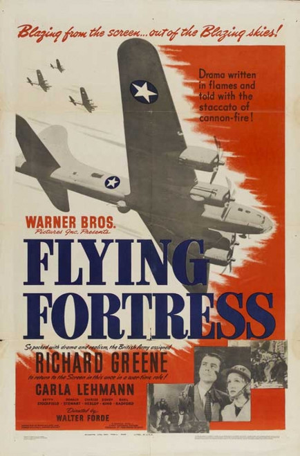 Flying Fortress Movie Poster (11 x 17) - Item # MOVIB89590